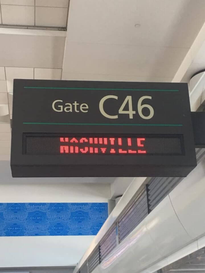 Getting to the gate on time - aisle, window or middle?