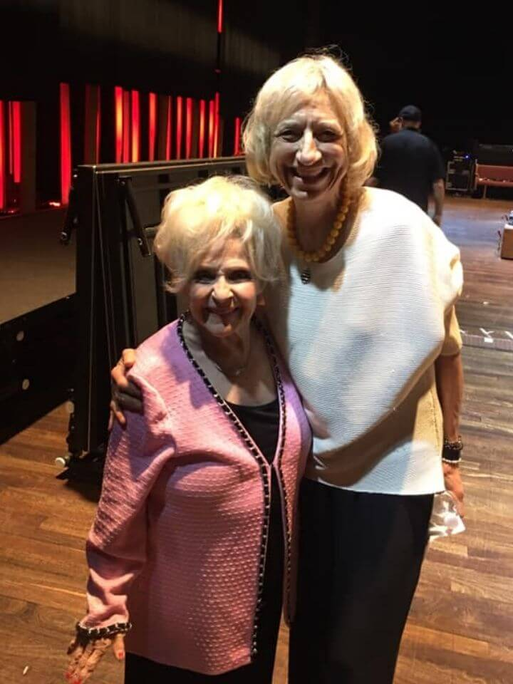Our host for Sunday Morning Country the incomparable Brenda Lee (and me!)