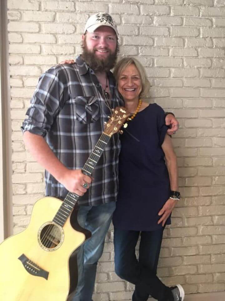 While I was in Nashville I reconnected with my old friend and co-songwriter  Jayron Weaver